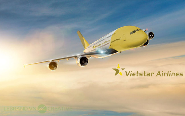 Vietstar Airlines Logo Guidlie by Lebrand