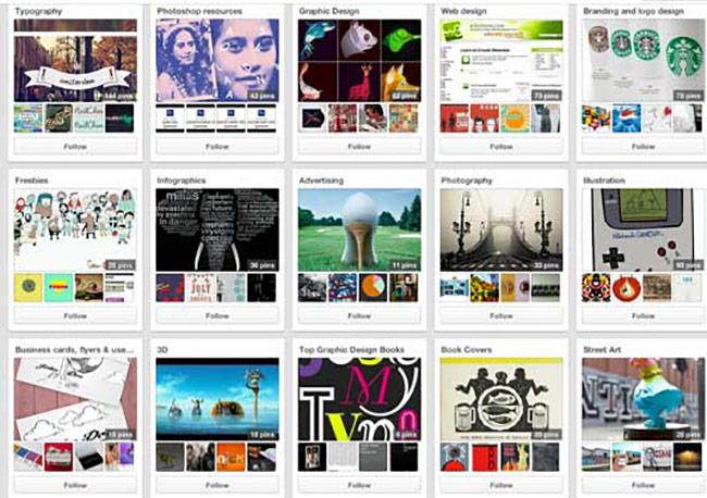 Kiểm tra Creative Bloq Pinterest cho nguồn cảm hứng