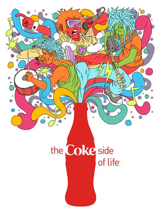 Coca-Cola luôn là một trong những chuẩn mực về sáng tạo, nhưng điều ít biết là Coca-Cola chỉ có vài chiến dịch quảng cáo toàn cầu trong hơn 10 năm qua.
