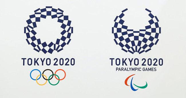 Biểu tượng chính thức Olympic 2020 của Tokyo.