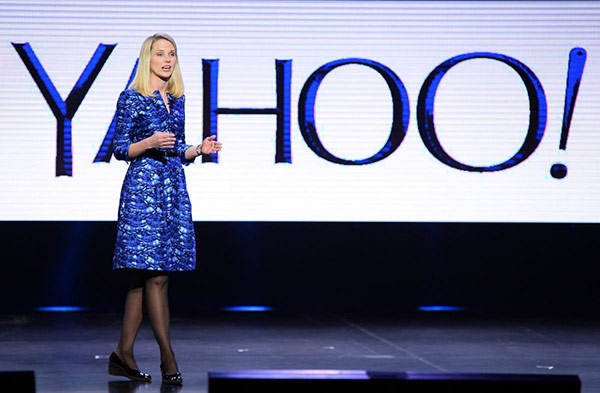 Bà Marissa Mayer - CEO của Yahoo.