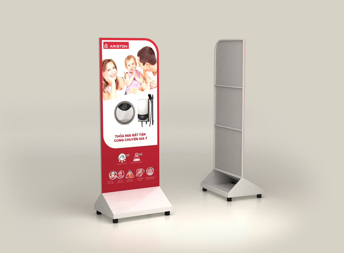 Ariston standee