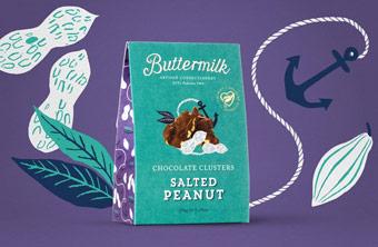 Khơi nguồn cảm hứng cùng thiết kế bao bì Butter Milk