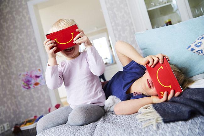 McDonald's - Ứng dụng bao bì thực tế ảo
