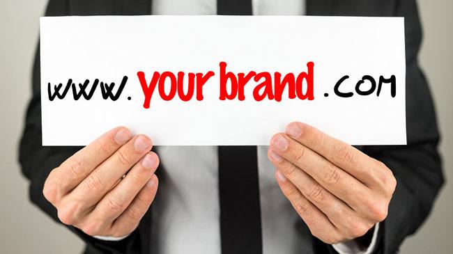 domain website đều được lấy theo tên thương hiệu