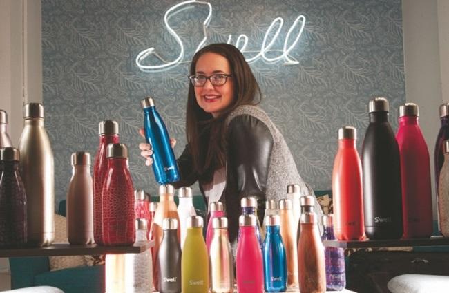 Bí quyết thành công của nữ doanh nhân tự thân Sarah Kauss