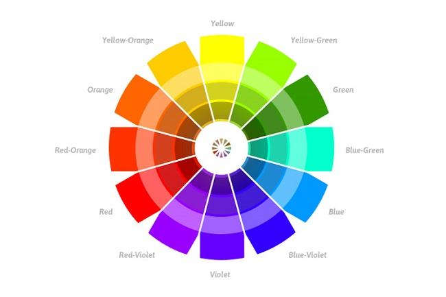 Nguyên tắc phối màu trong quảng cáo