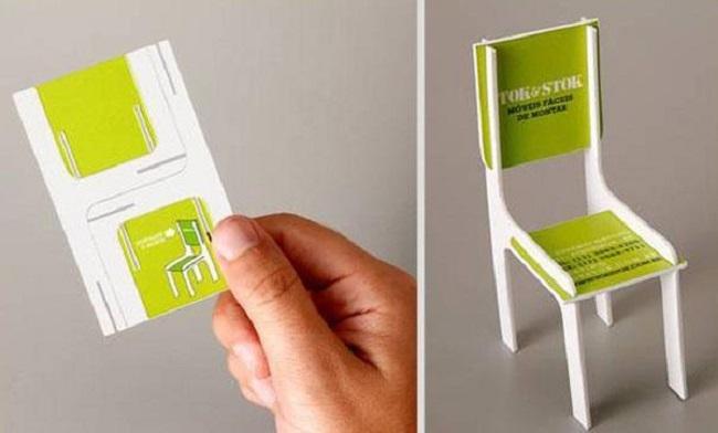 Những mẫu thiết kế card visit có một không hai