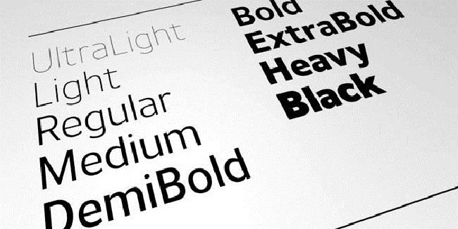 4 Nguyên tắc vàng kết hợp 2 fond chữ trong thiết kế