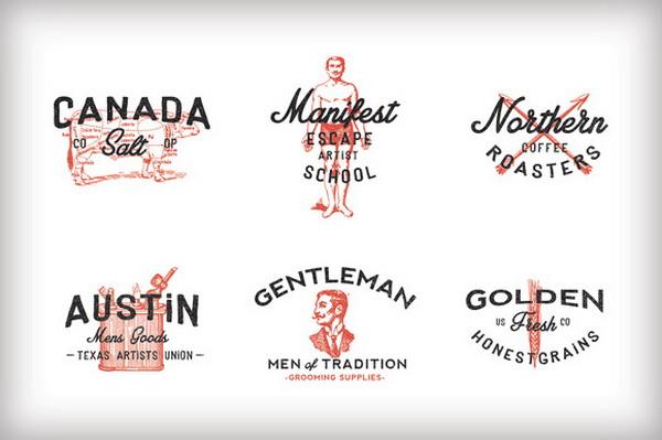 3 phong cách cho 1 thiết kế logo vintage đầy sáng tạo