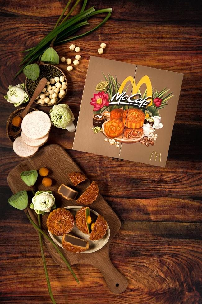 Bao bì bánh trung thu ấn tượng từ McDonald's VietNam