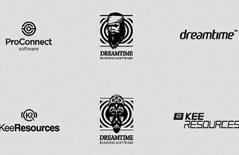 Top logo đen trắng cực kỳ sáng tạo và ấn tượng