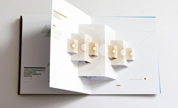 Ý tưởng thiết kế Brochure từ nghệ thuật cắt giấy