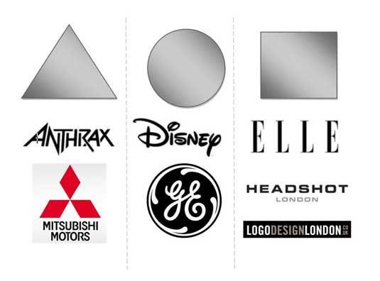 Hình khối trong thiết kế logo ảnh hưởng đến tâm lý người nhìn (P.1)
