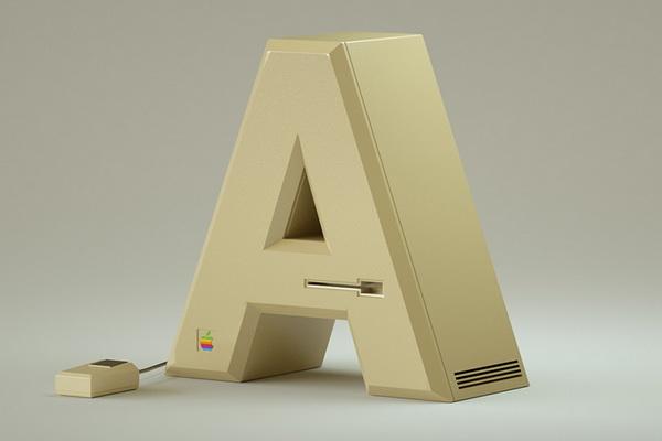 Khi chữ được tạo ra từ công nghệ và nghệ thuật