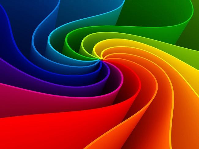 Màu cầu vòng – Đột phá màu trong thiết kế