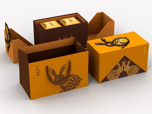 Những thiết kế bao bì bánh trung thu đầy sáng tạo