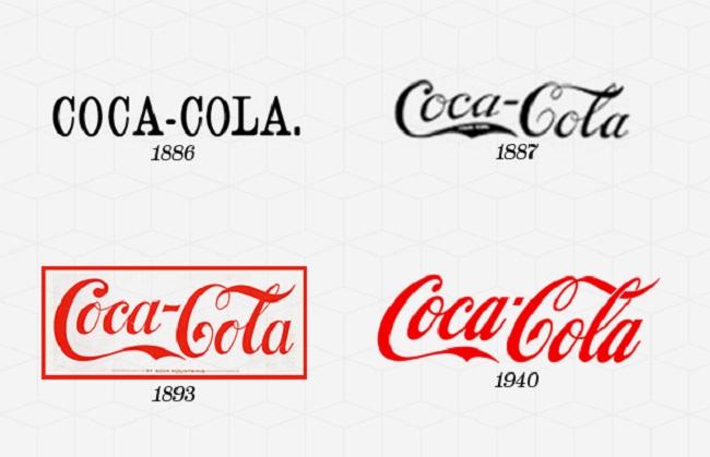 """Quá trình """"tiến hóa"""" của thiết kế logo"""