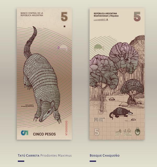 Cảm hứng thiết kế từ bản tái thiết kế tiền giấy độc đáo