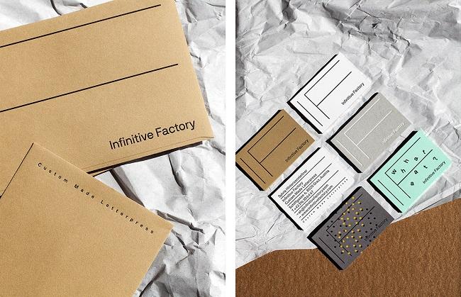 Thêm cảm hứng từ bộ nhận diện thương hiệu Infinity Factory ấn tượng