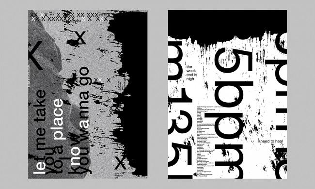 Ngắm bộ Typography Poster ấn tượng từ Umer Ahmed