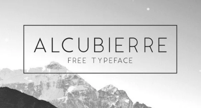 13 font chữ Sans Serif miễn phí cho thiết kế theo phong cách hiện đại