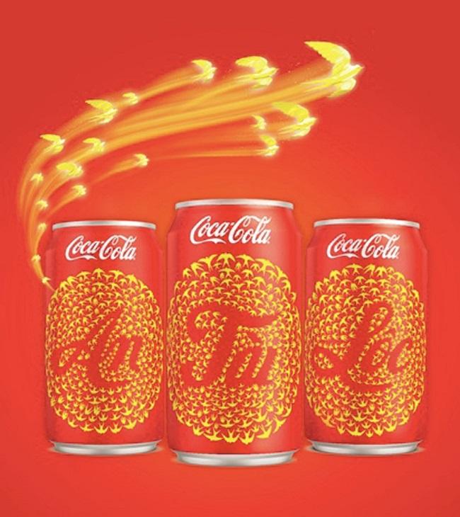 Khám phá bao bì Tết của Coca – Cola