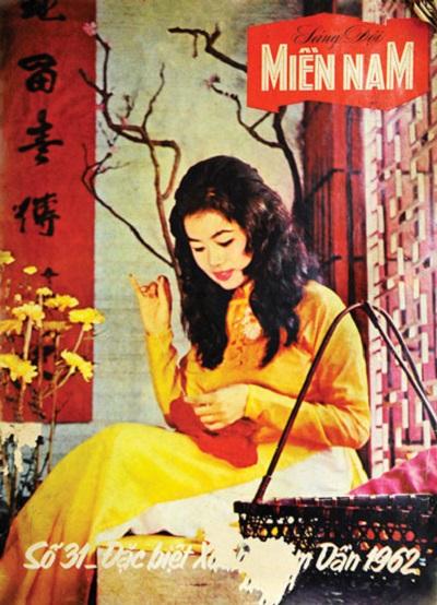 Cảm hứng thiết kế từ bìa báo xuân Sài Gòn xưa