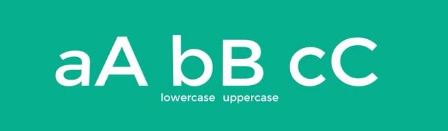 Một số thuật ngữ trong Typography