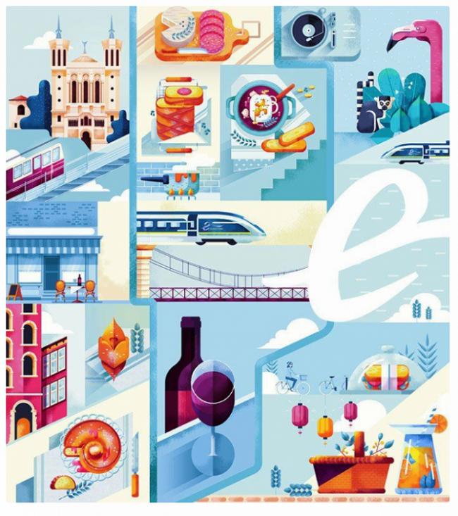 Tìm hiểu thiết kế đồ họa kiểu Pháp