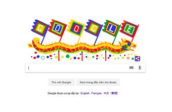 Biểu tượng Giỗ Tổ Hùng Vương xuất hiện trên Google
