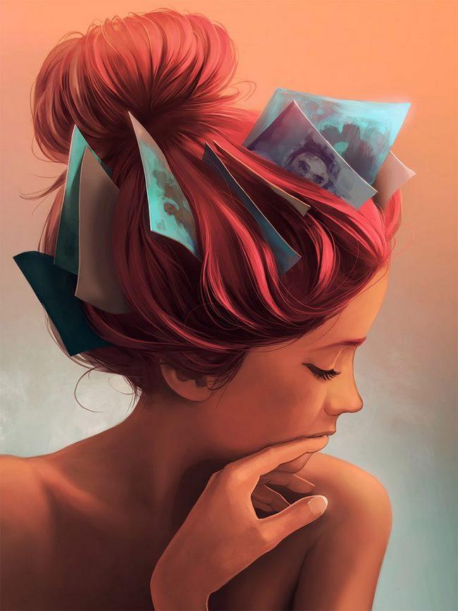 Digital Painting – Nghệ thuật vẽ thời đại số