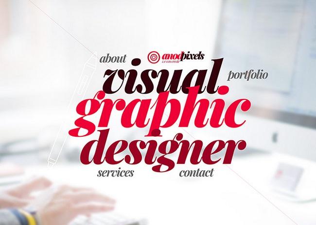 Graphic designer - Visual designer - User interface designer