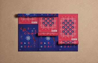 Cận cảnh thiết kế poster của Red Bull Music Academy Bass Camp DubaI