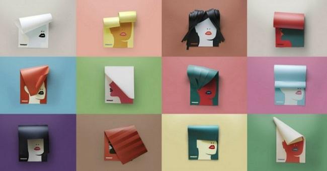 """Những poster """"tóc giấy"""" đầy mê hoặc"""