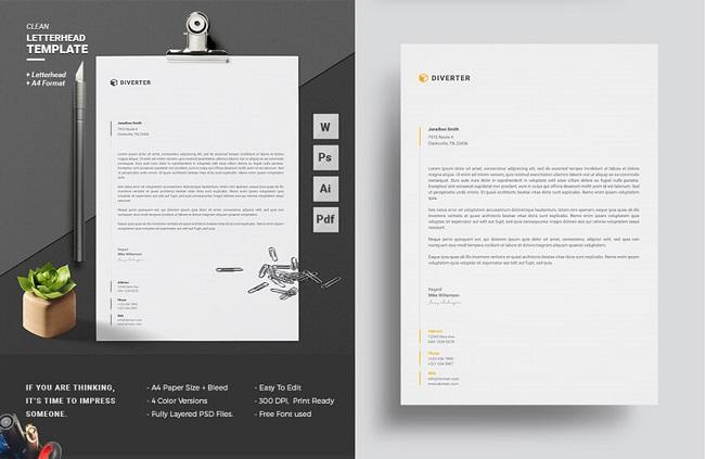 10 thủ thuật để tạo letterhead chuyên nghiệp