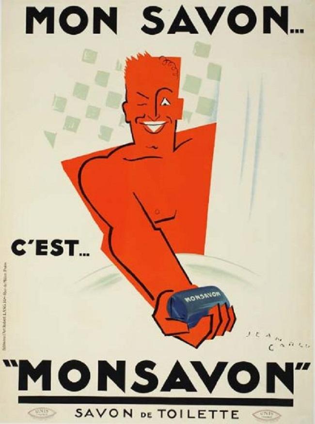 Cảm hứng từ phong cách thiết kế áp phích của Jean Carlu
