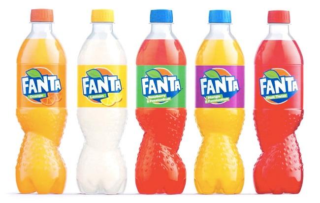 [Độc nhất] Xoắn cùng thiết kế bao bì nước ngọt Fanta