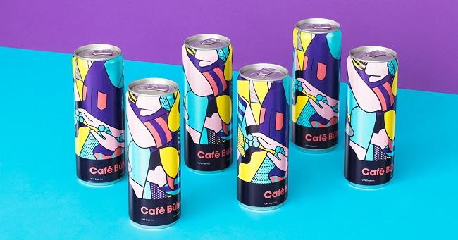 Ngắm bộ nhận diện kết hợp Pop Art và nghệ thuật trừu tượng của Cafe Buho