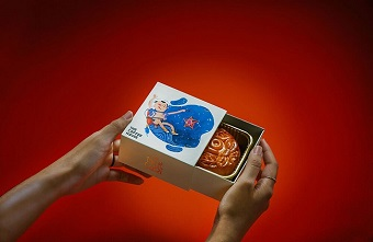 Thiết kế bao bì bánh trung thu đầy sáng tạo của The Coffee House