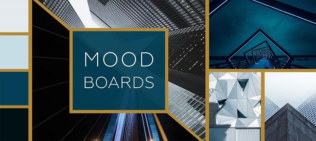 Đơn vị thiết kế thương hiệu chuyên nghiệp sử dụng Mood Board như thế nào?