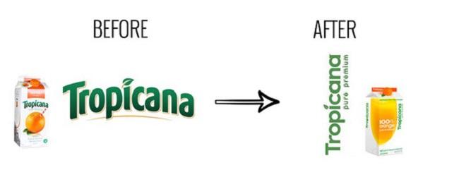 Bài học từ thiết kế bao bì thất bại của Tropicana