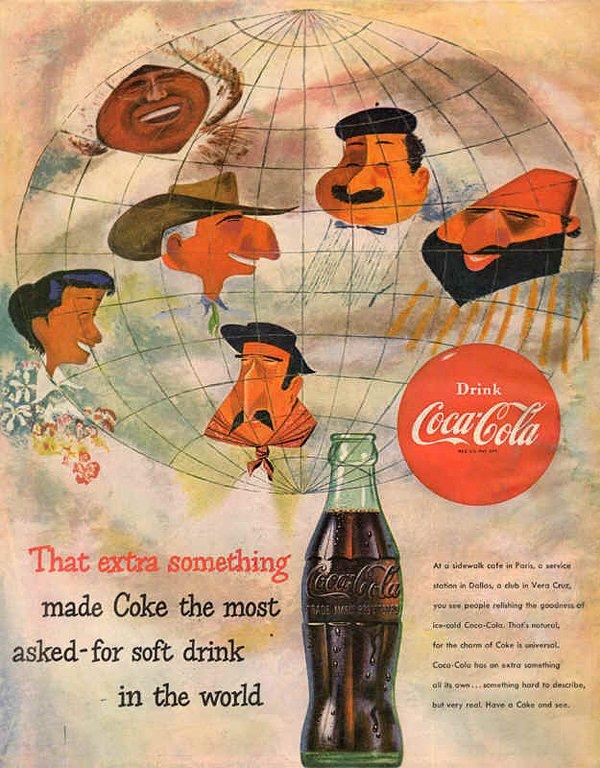 """Tìm ý tưởng thiết kế mới từ những quảng cáo đã """"xưa như Trái Đất"""" của Coca-Cola"""