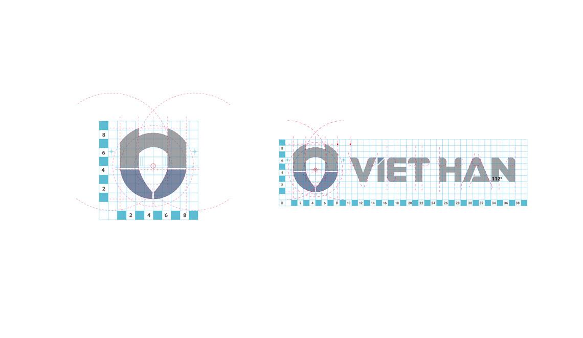 Thiết kế thương hiệu Việt Hàn
