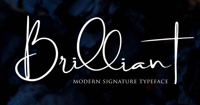 Những font chữ Script đường nét uốn lượn cho Designer