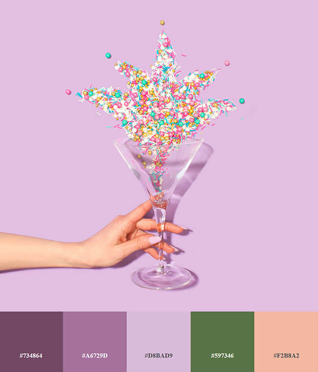 Những bảng màu tác động trực tiếp đến cảm xúc trong thiết kế bao bì sản phẩm
