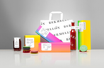 Những mẫu thiết kế bao bì đẹp với bảng màu ấn tượng về thực phẩm, đồ uống