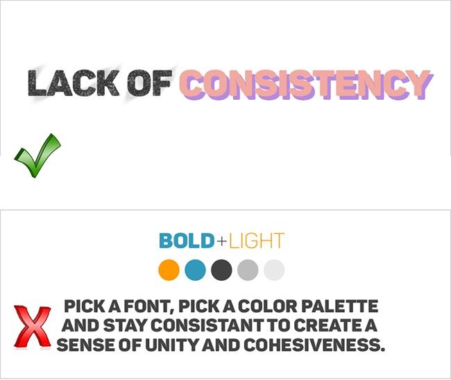 Những điều không nên có ở một bản thiết kế thương hiệu chuyên nghiệp – Phần 2