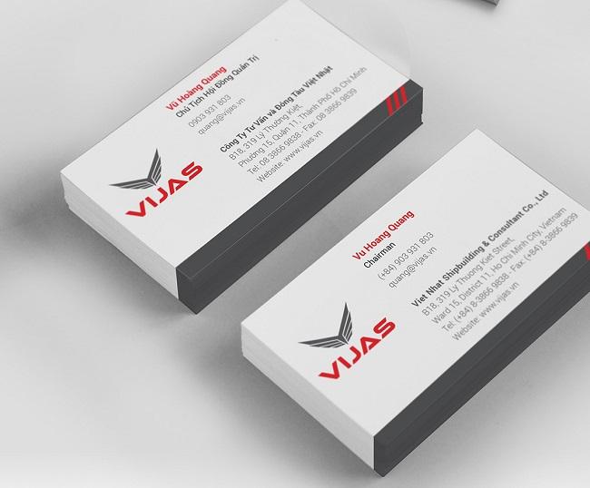 Cấu trúc cơ bản của một thiết kế danh thiếp chuyên nghiệp