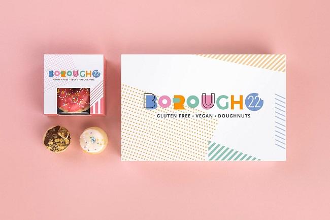 Khám phá bộ nhận diện thương hiệu vui nhộn của tiệm bánh Borough22